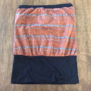 Tops - SMALL SPARKLY TUBE TOP BANDED WAIST REALLY CUTE